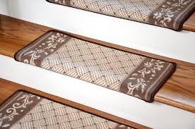 Stair Protectors by Dean Modern Diy Bullnose Wraparound Non Skid Carpet Stair Treads