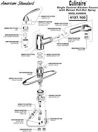 commercial kitchen faucet parts american standard kitchen faucet parts visionexchange co