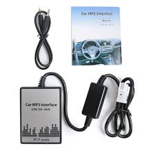 online shop 3 5mm usb sd mp3 aux cd interface audio in adapter for