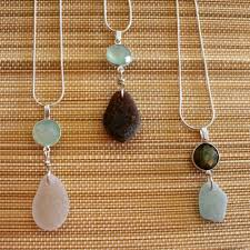 make glass necklace pendants images Outer banks jewelry jpg