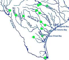 Texas rivers images Map texas rivers jpg