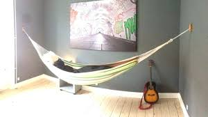 hang hammock indoors sluice hammocks indoor hang kit setup and