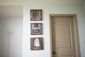 Rustic Nursery Decor Rustic Woodland Boy Nursery Decor