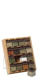 18 Jar Spice Rack Kamenstein 16 Jar Heritage Spice Rack Amazon Ca Home U0026 Kitchen
