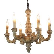 Wooden Chandelier Lighting Vintage Amercian Font B Rustic Wooden Chandelier Lamp Living Hotel