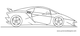 lamborghini car drawing how to draw a lamborghini sesto elemento car drawing for