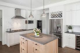 x wine rack over fridge kitchen traditional with white and grey