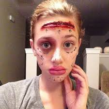 special effects makeup for beginners lili reinhart special effects makeup popsugar beauty
