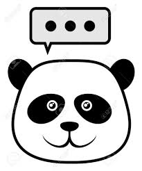 panda face drawing panda u0027s face coloring page free printable
