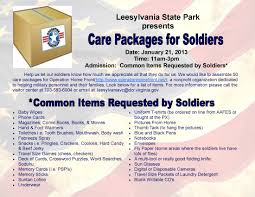 care packages for soldiers prince william living