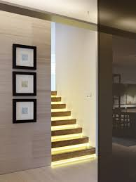 stair ideas contemporary indoor stair lights indoor stair lights home safety
