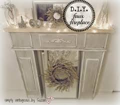 diy faux fireplace binhminh decoration