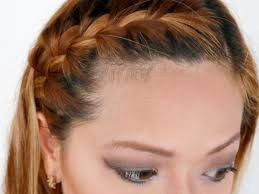 how to i french plait my own side hair how to french braid your bangs to the side 10 steps