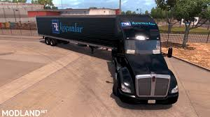 kenworth america kocanlar skin for kenworth t680 mod for american truck simulator ats