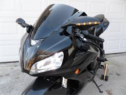 honda motorcycle 600rr cbr 600rr 1000rr led black mirrors 7037 7038 pair