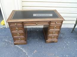 Office Desk Leather Top 50142 Sligh Furniture Leather Top Office Desk