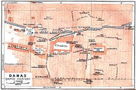 Damascus Syria Map Syria Maps Perry Castañeda Map Collection Ut Library Online