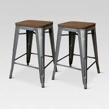 what is the best bar stool metal carlisle 29 5 backless metal barstool threshold target