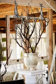 manzanita branches centerpieces farm filigree vintage rentals and styling that make your