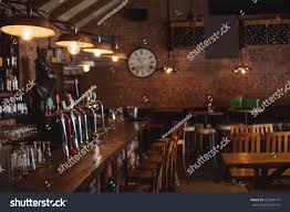 empty bar counter pub stock photo 637804777 shutterstock