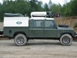 lifted land rover defender landrover defender dualcab rooftent 4x4 offroad