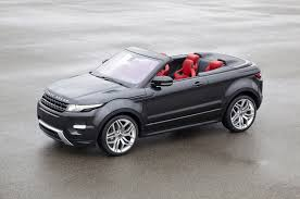 new land rover evoque land rover is coming out with a new drop top suv range rover