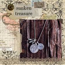 Stamped Jewelry Sunken Treasure New Hand Stamped Jewelry Necklace Design Hand