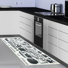 tapis pour cuisine tapis de cuisine gris design cuisine naturelle