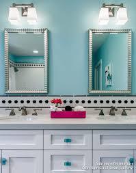 Blue And Green Kids Bathrooms Contemporary Bathroom by Teen Girls U0027 Bath Project Contemporary Bathroom San Francisco
