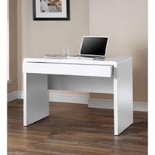 White High Gloss Office Desk Furniture Dams Luxor High Gloss White Office Desk Desks