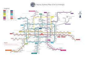 Madrid Subway Map Pekin Beijing Public Transport Map Transportation Public