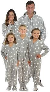 sleepytimepjs family matching fleece onesie pjs