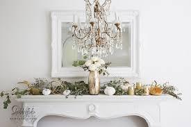 Mantel Decor Elegant And Simple Fireplace Mantel Decorating Ideas Shabbyfufu