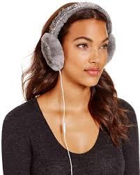 ugg earmuffs sale ugg australia two tone sparkle tech earmuffs bloomingdale s