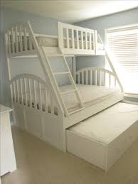 hand made queen and xl twin bunk bed with full trundle by weber