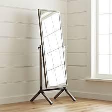 Crate And Barrel Floor Lamps Bedroom Mirrors Wall Mirrors U0026 Floor Mirror Shopping Crate And