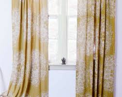Picture Window Drapes Curtains U0026 Window Treatments Etsy