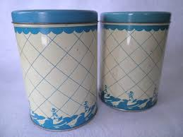 tin kitchen canisters 142 best vintage kitchen canisters images on vintage