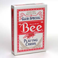 bee standard cards bicycle cards