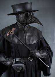 real plague doctor mask plague doctor staff topper winged hourglass