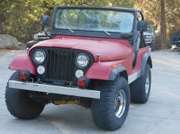1973 jeep commando for sale 1973 jeep cj5 base 4 2l rhino lined body blood red smog exempt