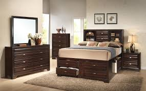 bedroom full size platform bed with drawers captain u0027s bed