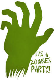 Halloween Birthday Card Ideas by Free Printable Zombies Party Invitation Zombies Pinterest