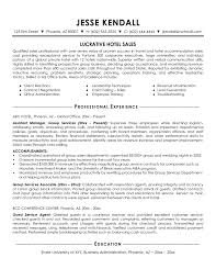 Simple Lucrative Hotel Sales Manager Resume for Client Relations     Vntask com