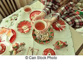 christmas tea party christmas tea party a christmas tea party still in