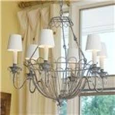 Basket Chandeliers French Wire Chandelier Foter