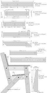 Woodworking Plans For Furniture Free by 25 Best Wooden Chair Plans Ideas On Pinterest Wooden Garden
