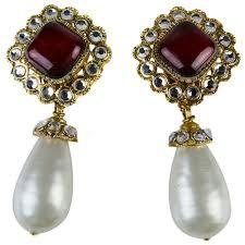1970s earrings 721 best chanel earrings images on chanel