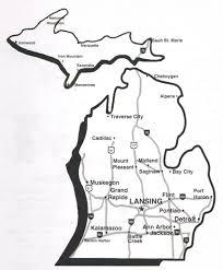 Upper Michigan Map The Splendor Of Michigan The Culinary Cellar