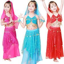 Baju Anak India bauchtanz set indischen tanz kleidung set weibliches